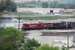 The MP15AC pair continues to switch the west end of Muskego Yard