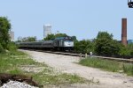 """AMTK 90221 glides down the """"Elevation"""" with eastbound Hiawatha 336"""