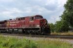 CP 8562 is leading EB intermodal train 198