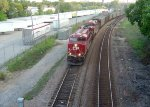 CP 8914 and an AC4400 lead MT train 803 elephant style through Grand Ave.