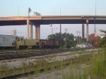 The Watco Southern makes its evening trip downtown