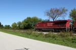 Parting snap of CP 8794 on WB 299