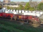 CP 9826 and a brand-new 9300 series GEVO lead EB oil train 602