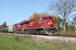 CP 8856 leads an eastbound ethanol train