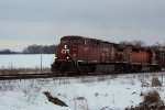 CP 8574 and 5947 power train 281 westbound