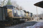CSX 814 and 108 on the old main line