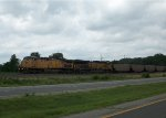 UP 6575 eastbound UP loaded coal train