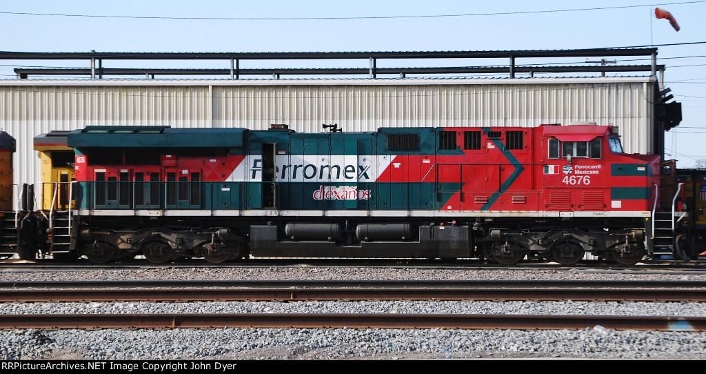FXE 4676 Ferromex 10th Anniversary Decal