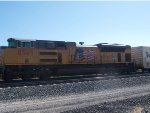 UP 8569n#3 power in  in a WB doublestack (KATLB) at 9:45am