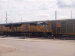 UP 5136 leads a WB doublestack (IEWLB) at 11:52am