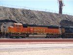 BNSF 8190 #2 power in an EB empty grain train at 12:28pm