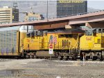 UP 7361 #3 power in an EB autorack (ANGNS) at 10:13am