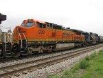 BNSF 939 & CSX 8597