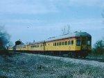 C&O 614 & train