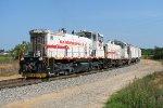 SAN 1400 shoving back into the Sandersville Industrial park