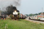 L782 smoking it up through Claxton