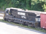NS 3547 with a local on the Electric Company siding.  9/11/2005