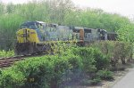 Another view of CSX 655 and 4541
