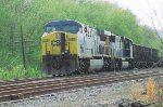CSX 655 and 4541 tie down for now