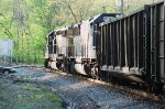 CSX 8597 and 8858