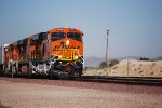 BNSF 6894 Leads a Hot Z Train into the BNSF Barstow Yard for a crew change and continue her Journey East towards Chicago, IL.