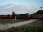 SP 187 on eastbound UP loaded coal train