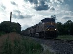 UP 5470 eastbound UP loaded coal train