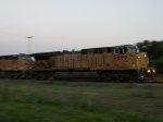 UP 6899 westbound UP empty grain train