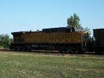 UP 6277 DPU on westbound UP empty coal train