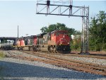 CN 8820, CN 2236 and CN 5319 on NS 61N