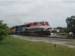 FEC 106 leads train 101