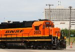 BNSF 2652 and the BNSF Office