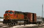 BNSF PTC Test train