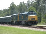 CSX 9998 with the OCS