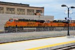 BNSF Mixed Freight Past Salt Lake Central Station