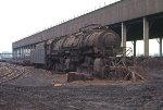EX-N&W 2-8-8-2 used as portable source of steam at ARMCO Steel