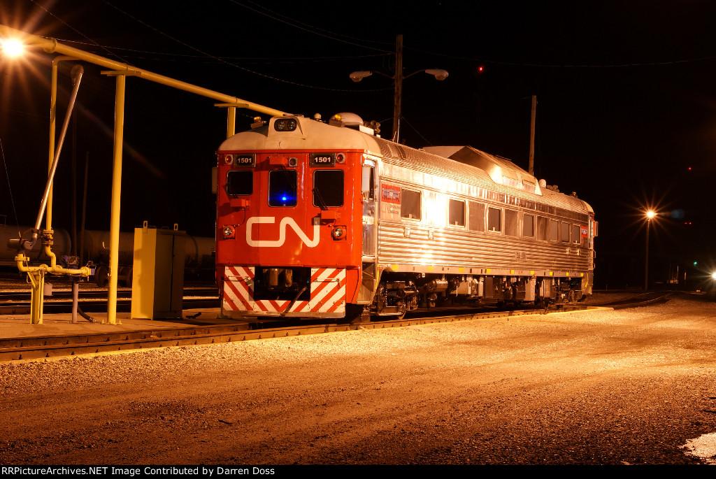 CN 1501 Engineering Car