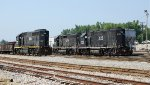 Illinois Central GP-40s