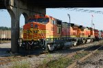 West Tennessee Railroad's newly Acquired 8-40BW's 580 & 564