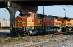 West Tennessee Railroad's newly Acquired 8-40BW 580