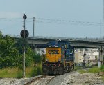 CSX 1156 eastbound Lite Power