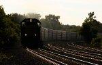 CSX unit Autorack Train