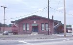 SCL freight station in downtown Greenwood.