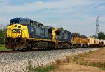 Q335 rounds the curve at McCords with 2 new GP38's for Marquette Rail