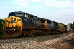CSX 9043 and 8511 head west with Q335-05
