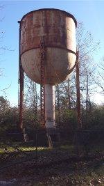 MoPac Water Tank