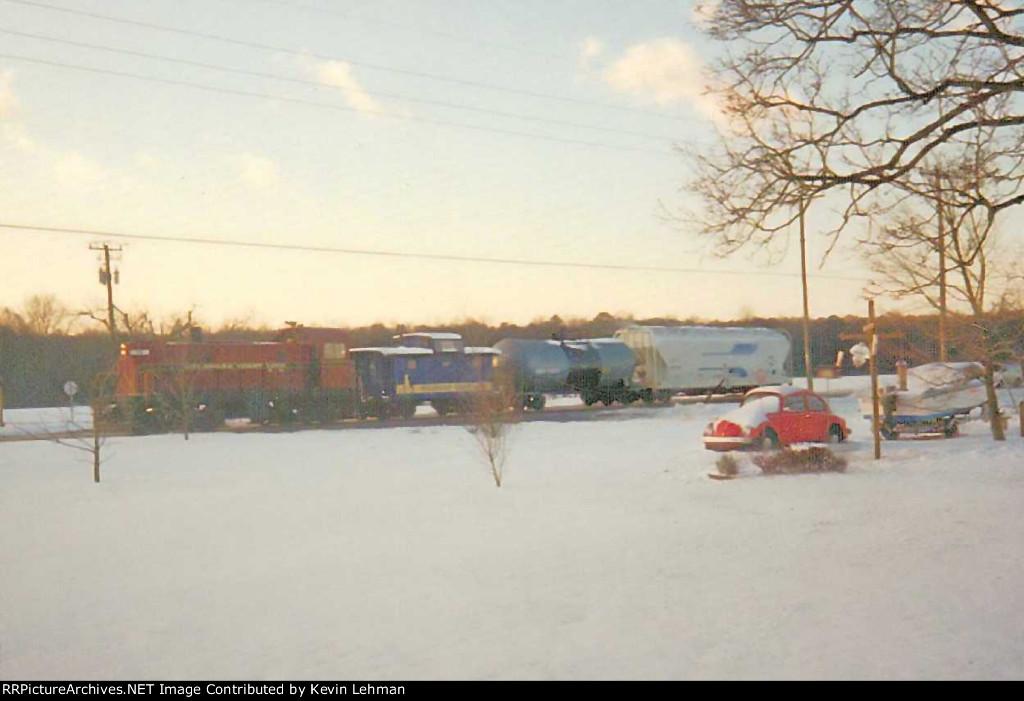 DCLR T6 #19 in snow