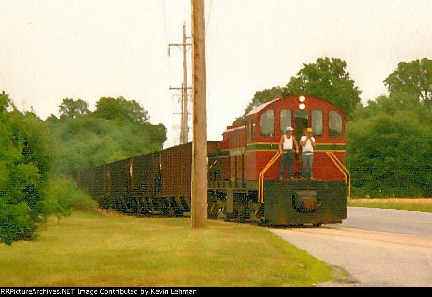 DCLR 19  with stone train going towards Georgetown,De