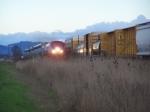 Train 11 Meets UP 4526