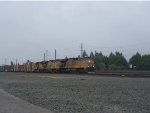 UP 5395 Pulls into the Yard